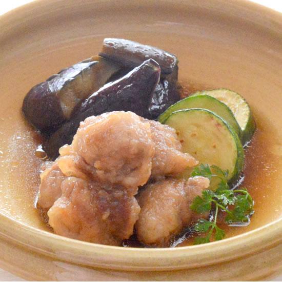 豚肉と野菜の焼き浸し